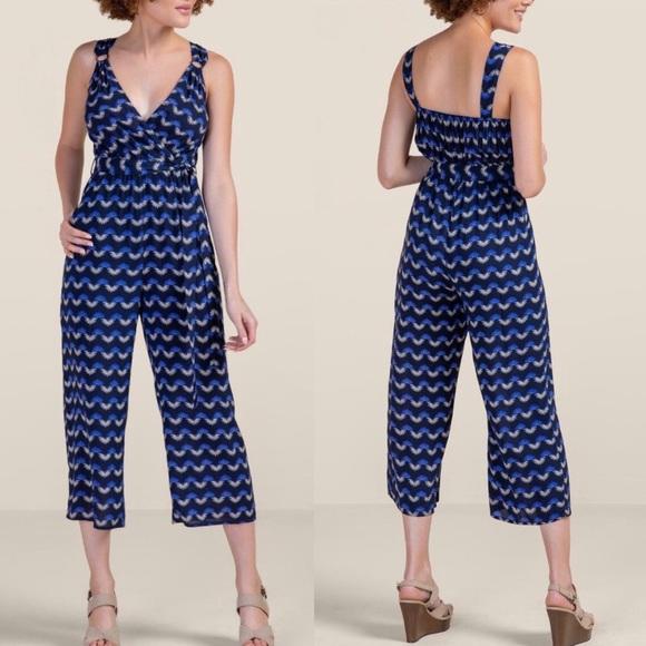 Francesca's Collections Pants - Francesca's Penny Wrap Tort Button Jumpsuit NWT